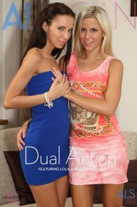 Alsscan:  Gina Devine & Lola - Dual action