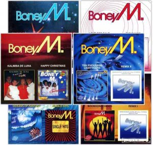 Boney M - Collection 1976-1988 (2000) 6CD (lossless+mp3)