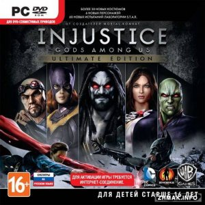 Injustice: Gods Among Us - Ultimate Edition (v.1.0.2787.0 *Update 5*) (2013/RUS/ENG/Multi8/Steam-Rip)