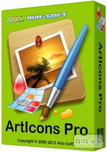 Aha-Soft ArtIcons Pro 5.43 RePack by KpoJIuK