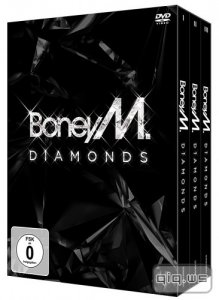 Boney M: Diamonds (40th Anniversary Box Set 3 DVD) (2015/DVDRip)