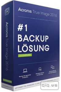 Acronis True Image 2016 19.0 Build 5518 + BootCD + Media Add-ons RePack by D!akov