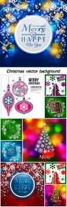 Christmas vector trees with shining