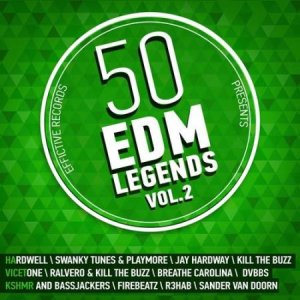 VA - 50 EDM Legends vol. 2 (2015)