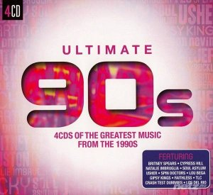 VA - Ultimate... 90s: 4CDs of the Great Music from the 1990s [4CD] (2015) FLAC