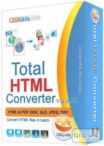 CoolUtils Total HTML Converter 4.1.86 Final / v.4.1.85 Portable (2016/ML/RUS)