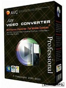 Any Video Converter Professional 5.9.1