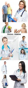 Doctors, medicine, men and women