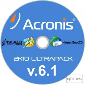 Acronis 2k10 UltraPack 6.1